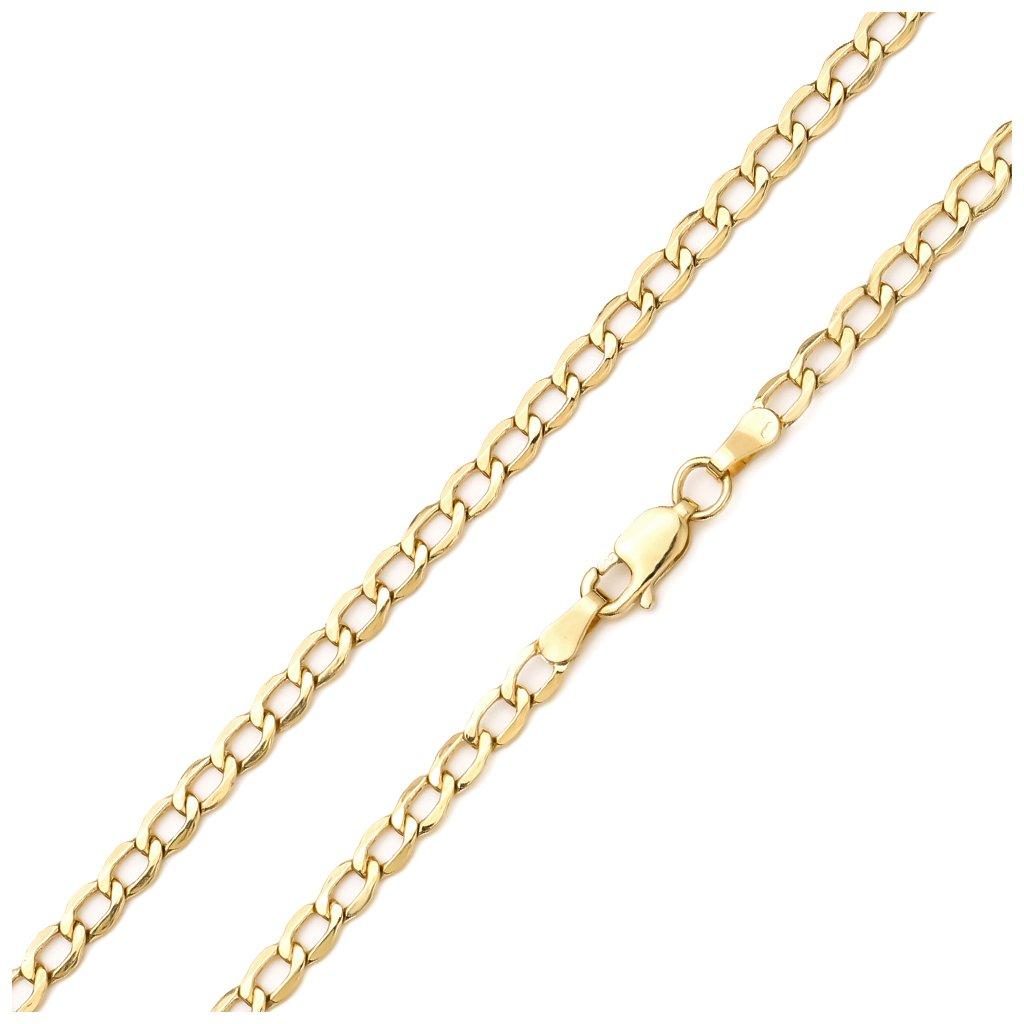 Zlatá retiazka Pancier 3,5mm 8350