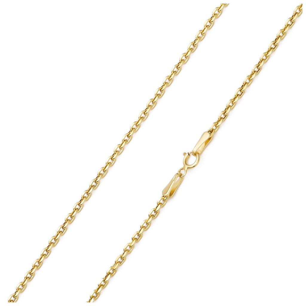 Zlatá retiazka Anker 2 mm 7955