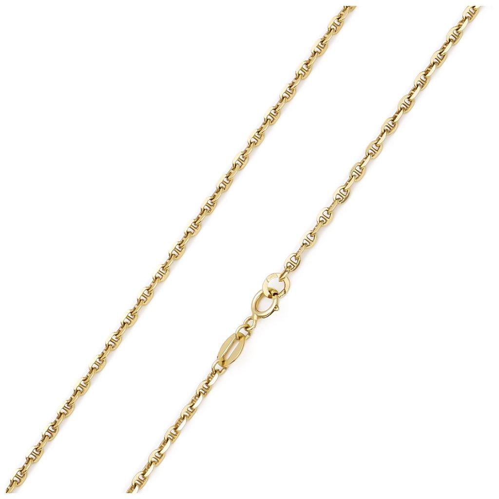 Zlatá retiazka Anker 1,9 mm 6849