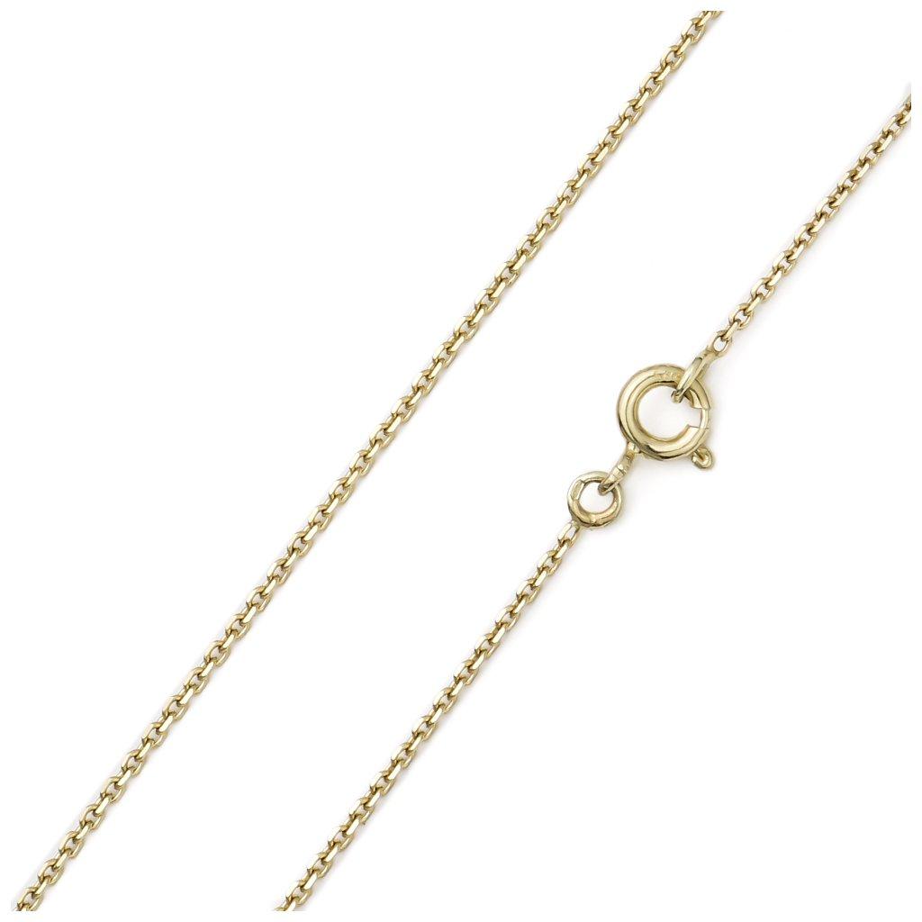 Zlatá retiazka Anker 1,3 mm 8367