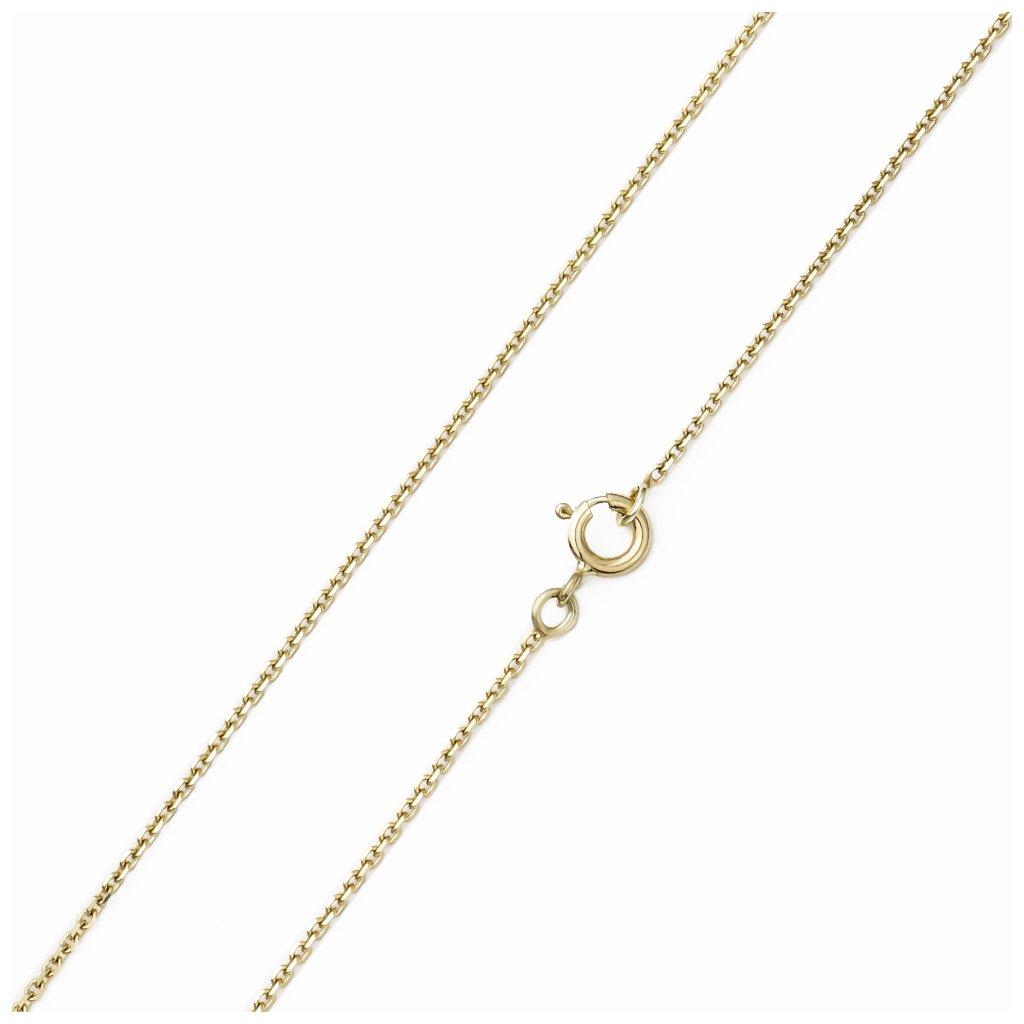 Zlatá retiazka Anker 1,4 mm 8197