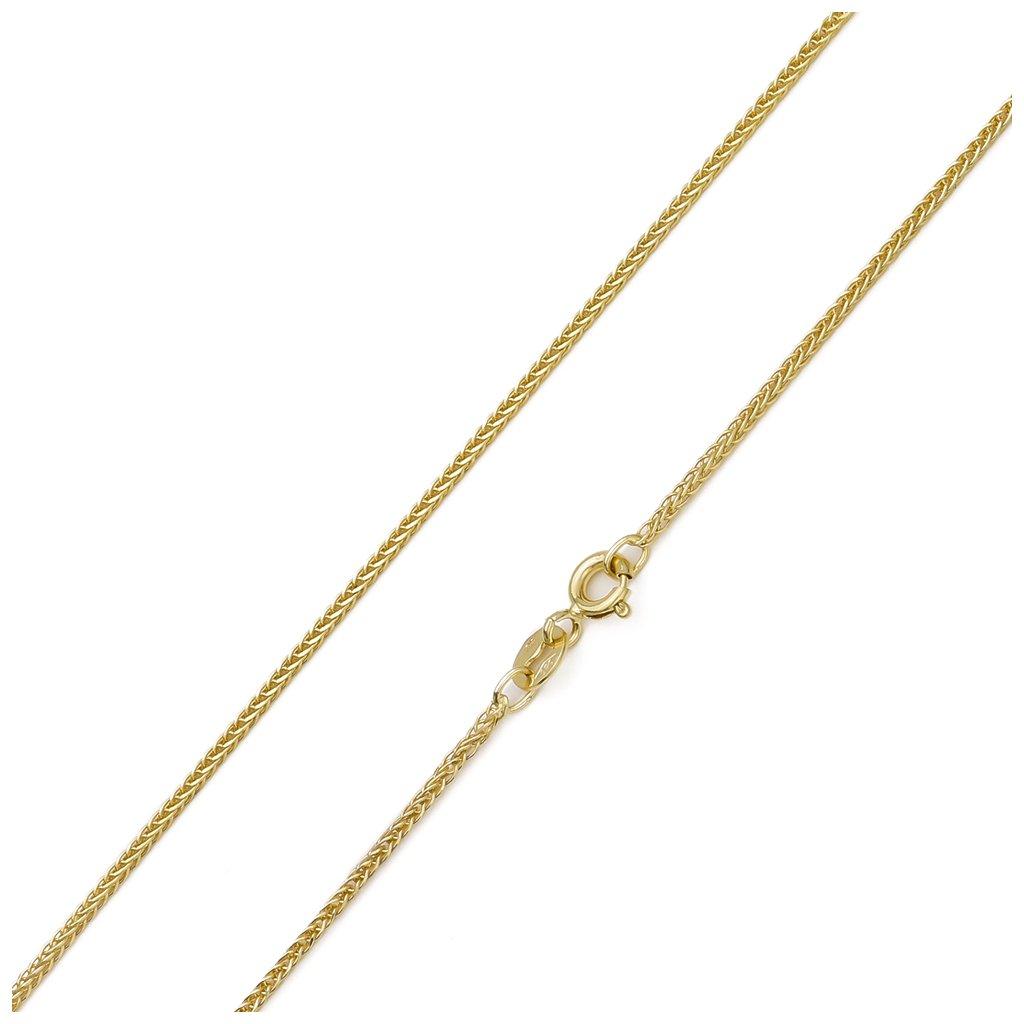 Zlatá retiazka Fox 1 mm 7012