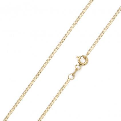 Zlatá retiazka Pancier 1,5 mm 8664