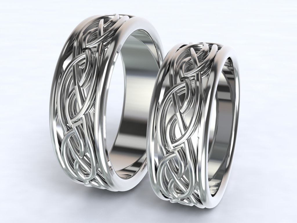Au585 Snubni Prsteny