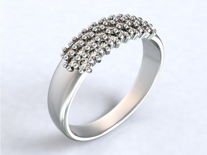 Au 585/1000 Prsten