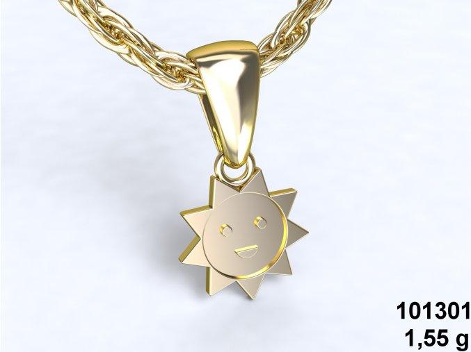 Au 585/1000 Zlatý přívěsek