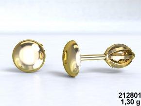 Au 585/1000 Zlaté náušnice