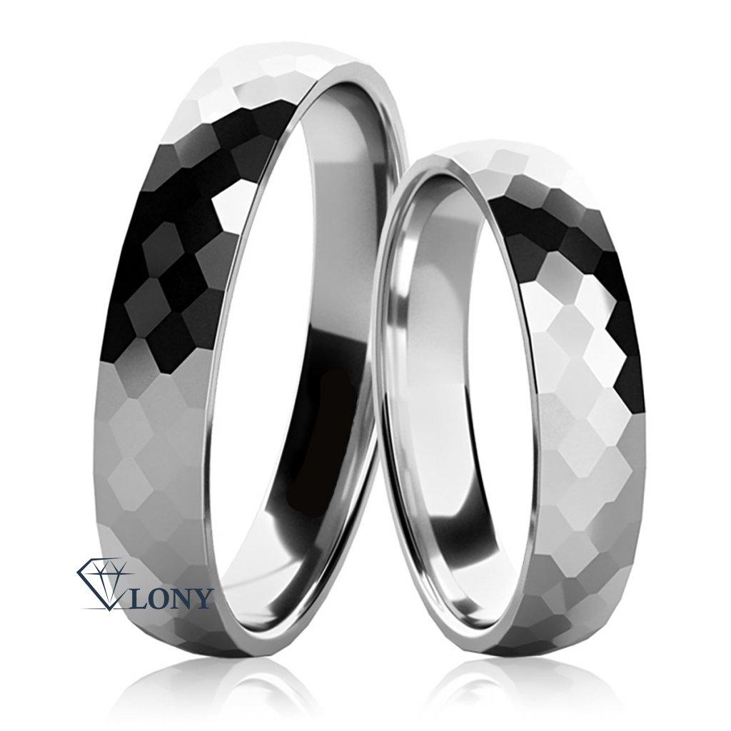Snubní prsteny Lelia ze stříbra