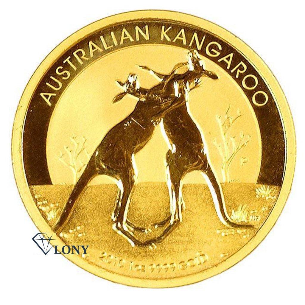 577 1 oz nugget kangaroo gold bullion zlato mince