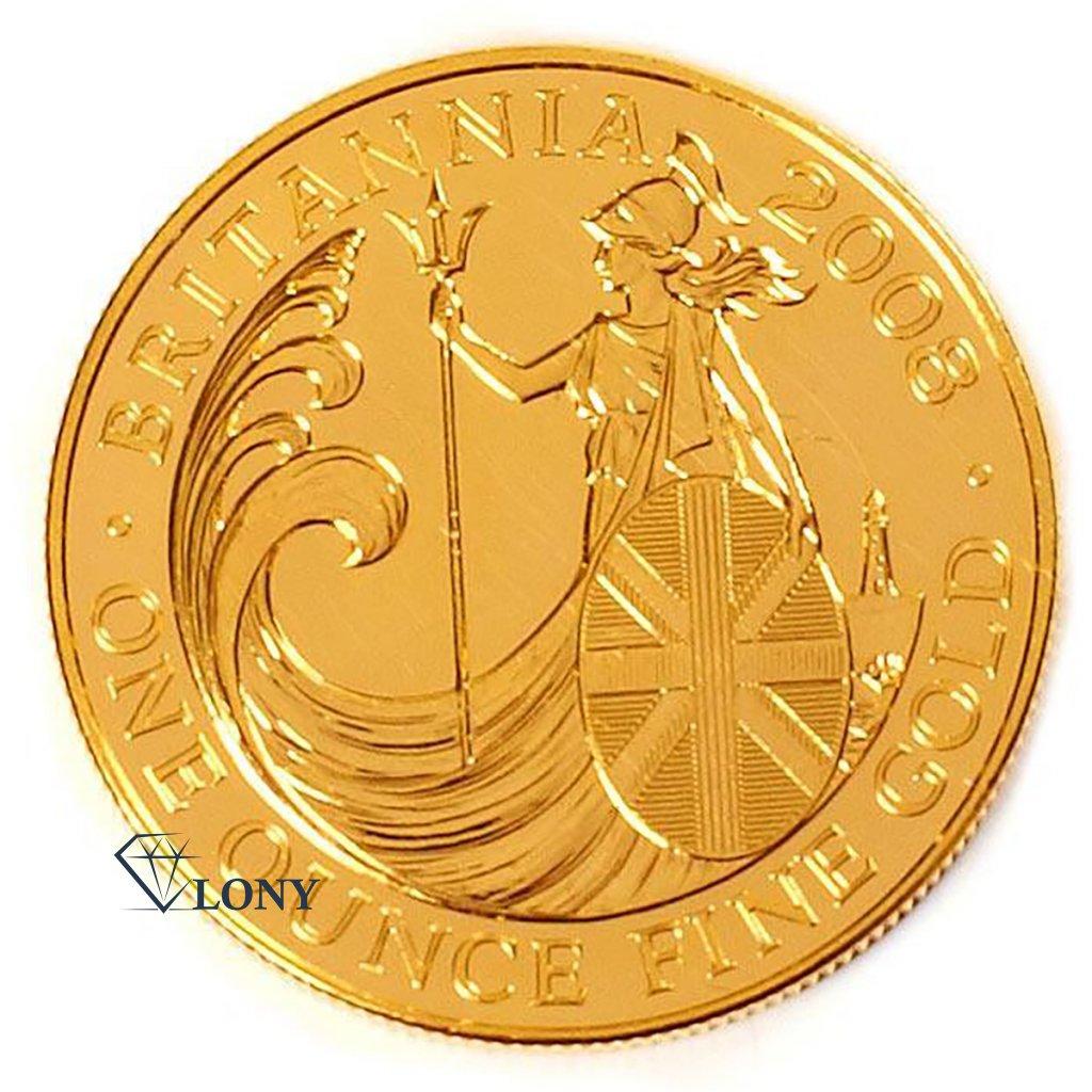 Investičbí mince Britannia 1 Oz