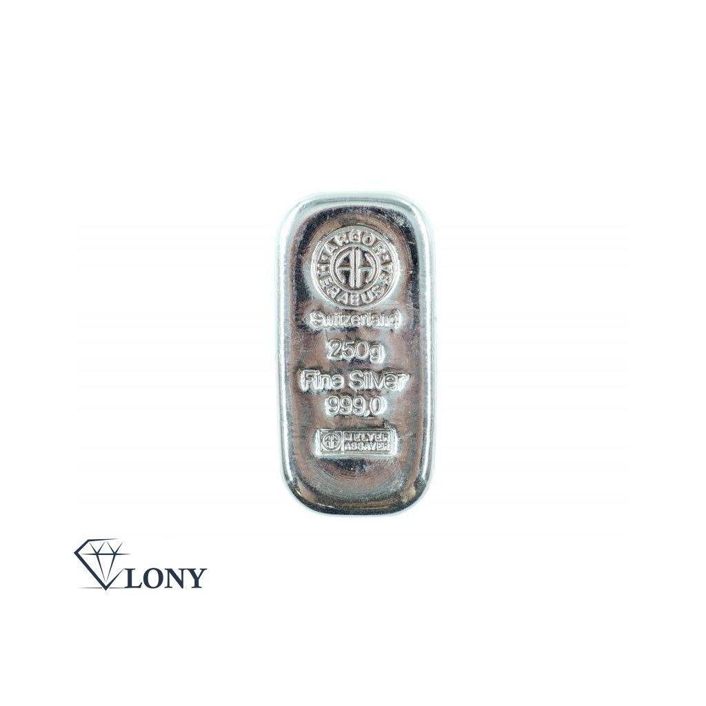Stříbrný slitek 250 gramů