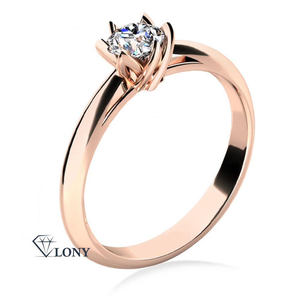 Prsten Lucille Exclusive s diamantem