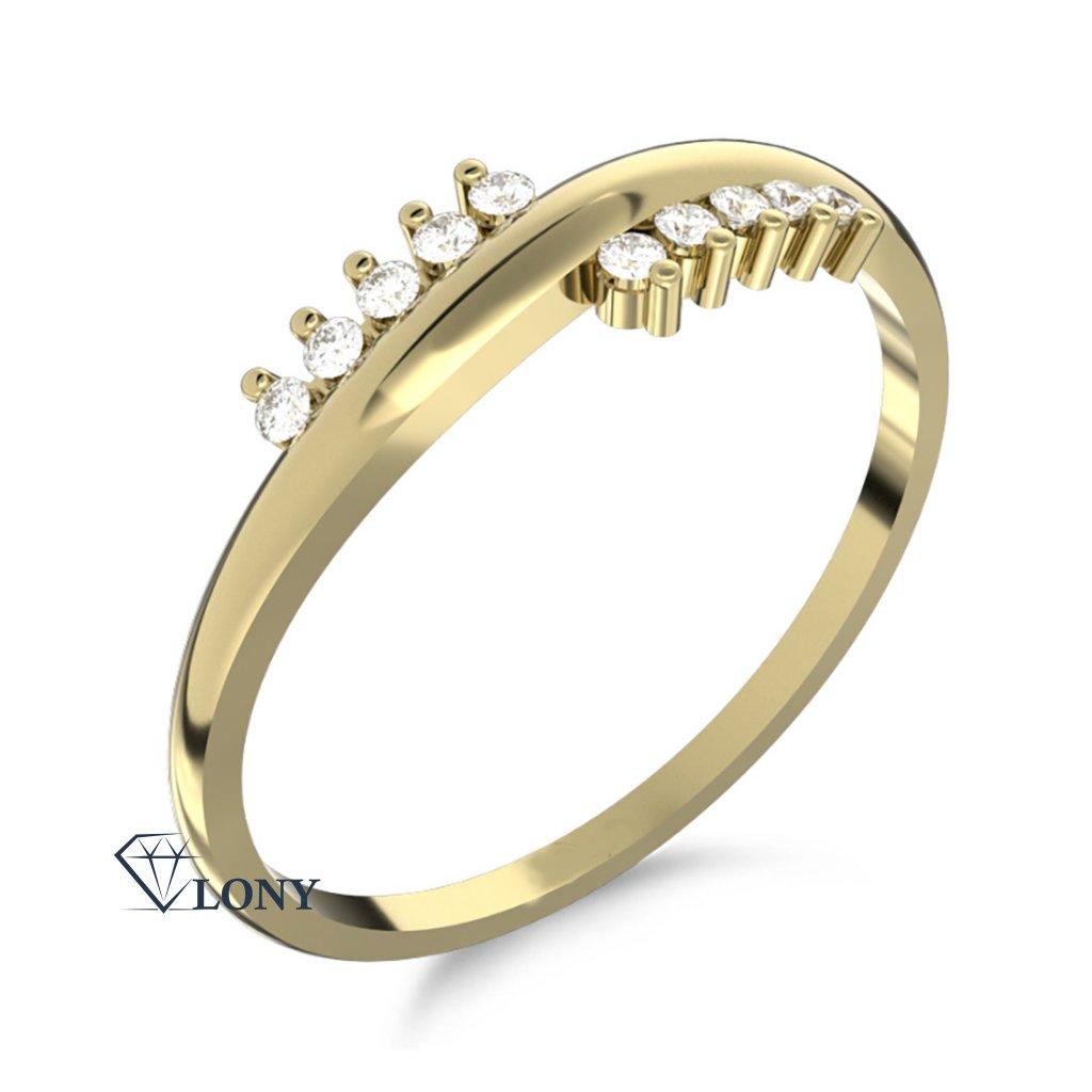 Zlatnictví LONY, zlatý prsten