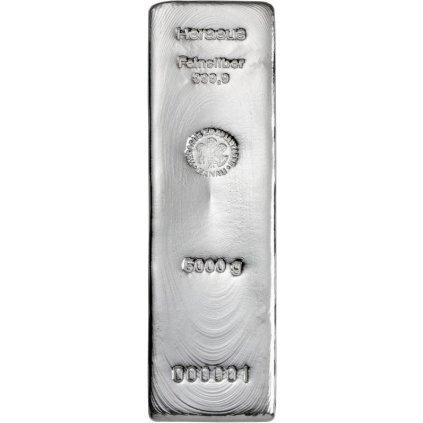Stříbrný slitek 5000 gramů