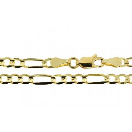 Parturi řetízek ze žlutého zlata
