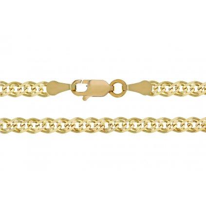 Cadea řetízek ze žlutého zlata