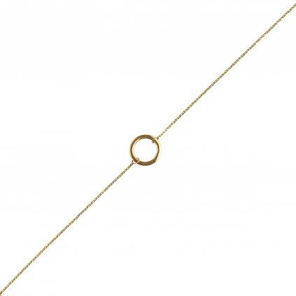 Gillian náramek ze žlutého zlata