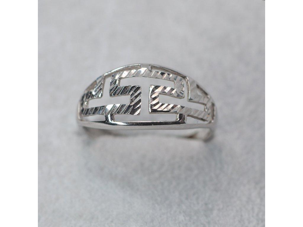 Zdobený prsten, vel. 52