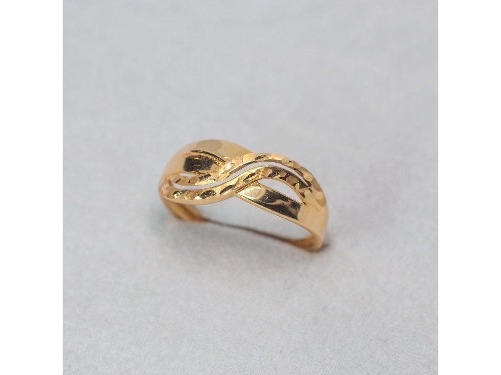Zdobený prsten, vel. 56