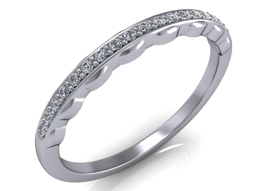 Snubní prsten SOPHIA s diamanty