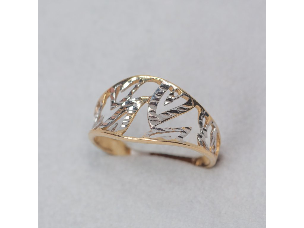 Zdobený prsten, vel. 53