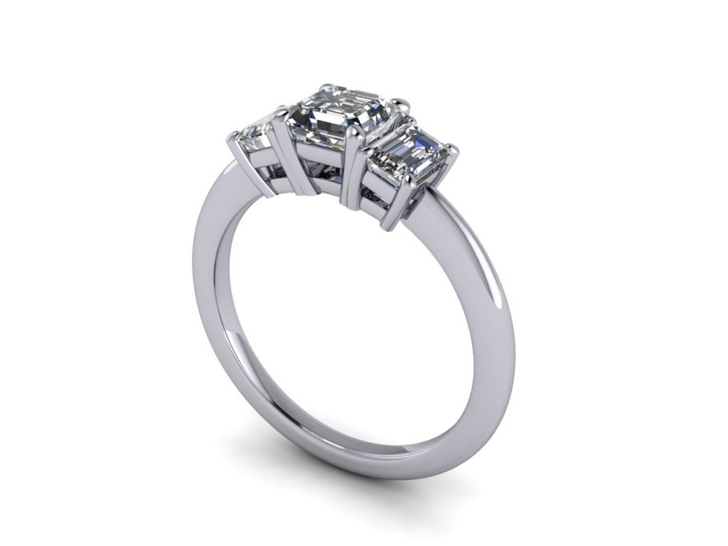 Zásnubní prsten SAVANNAH s diamantem