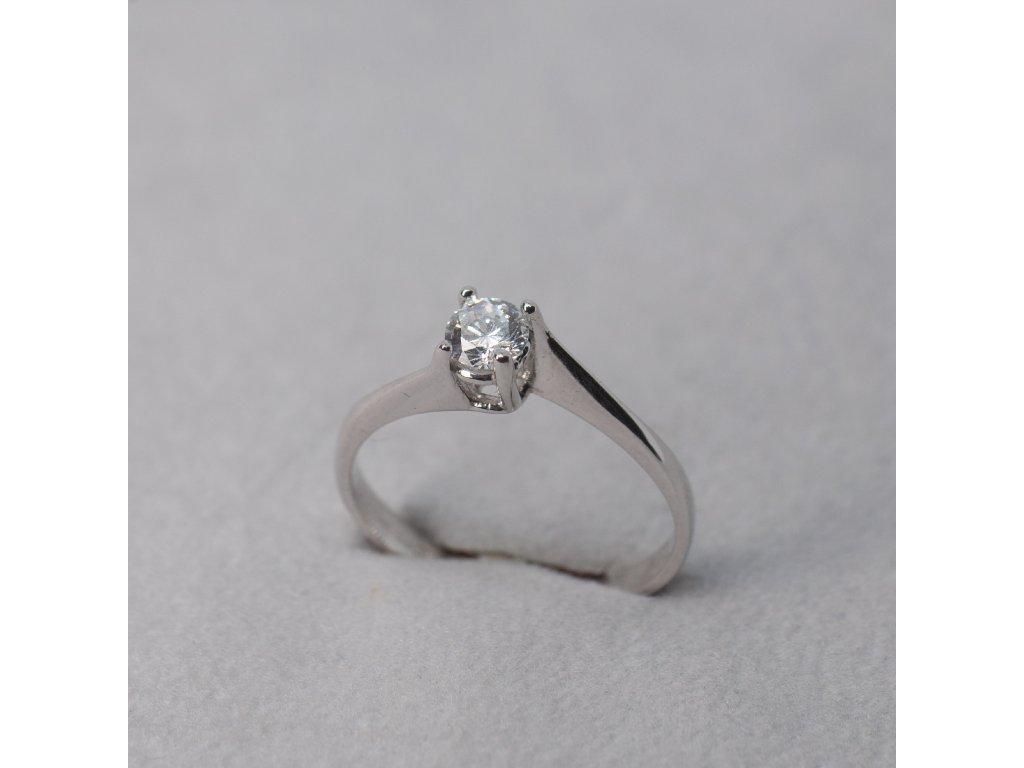 Prsten s asymetrickou obroučkou, vel. 52