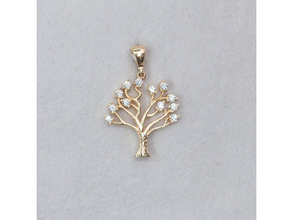 Přívěšek - strom života se zirkony