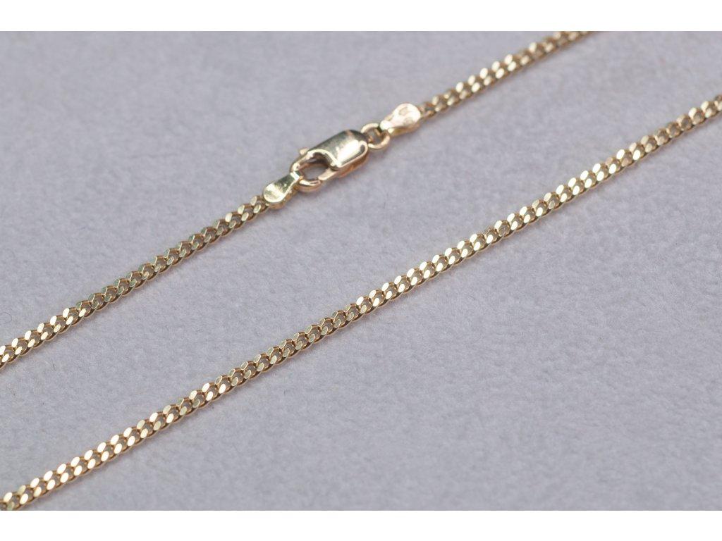 Zlatý řetízek, délka 55 cm