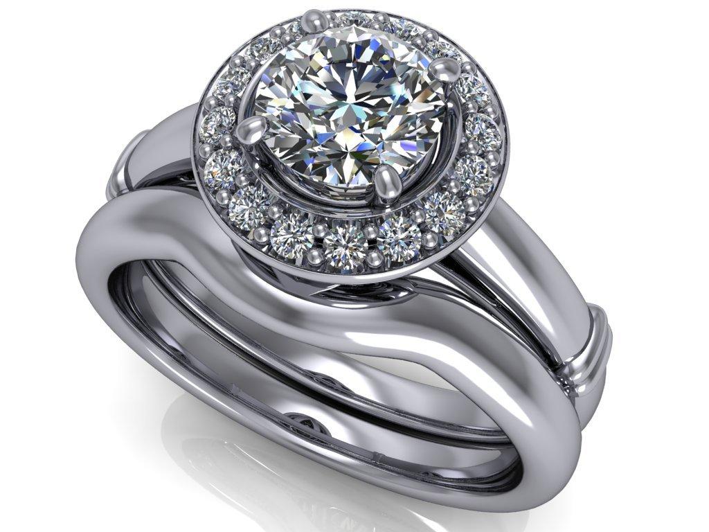 komplet zásnubní a snubní prsten Page