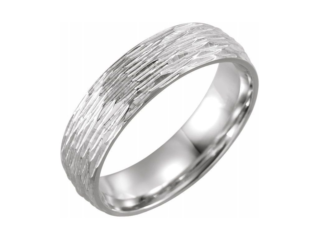 51940 netradiční pánský snubní prsten z bílého zlata SIMON zlatnictvi salaba zlatnicke studio