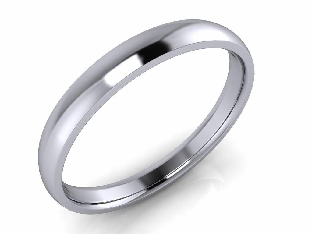 Pánský snubní prsten PAUL 3