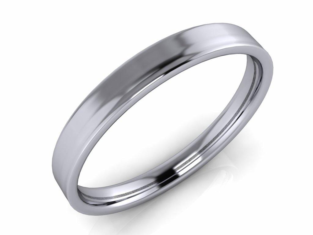 Pánský snubní prsten ROBERT 2-3mm