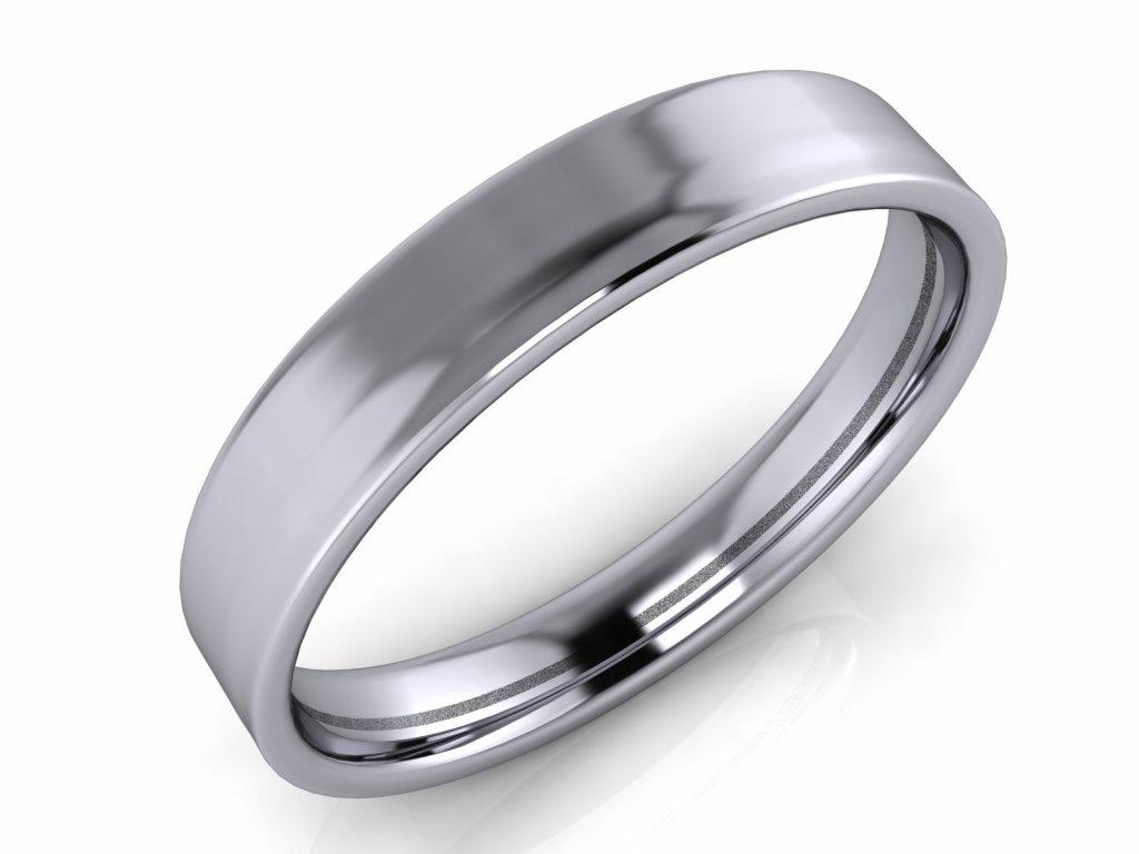 Pánský snubní prsten ROBERT 4mm