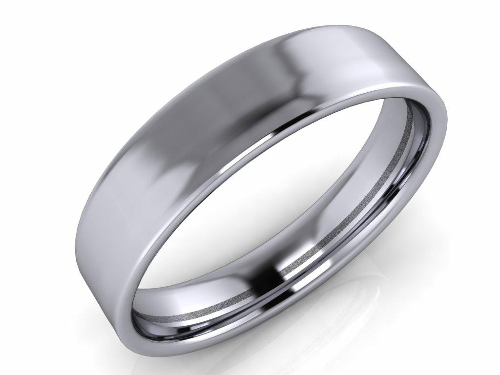 Pánský snubní prsten ROBERT 5-6mm