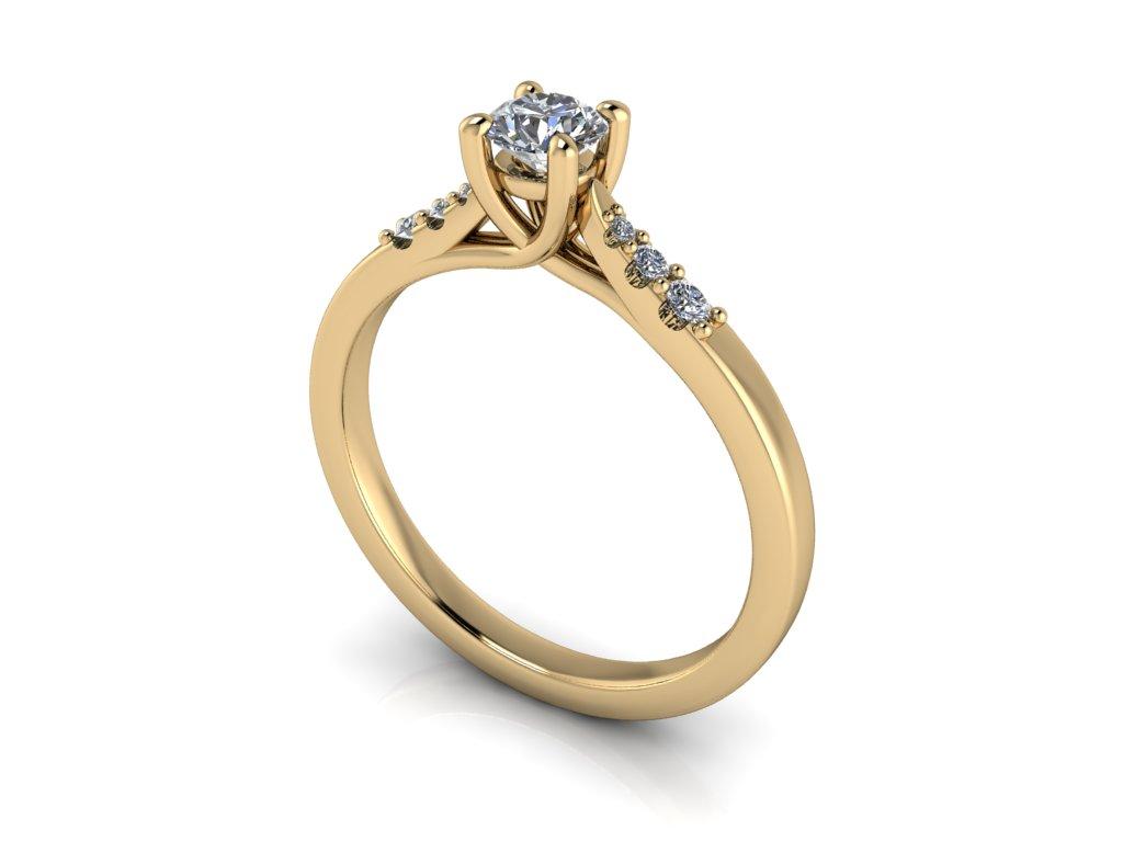 Zásnubní prsten LUCY s brilianty