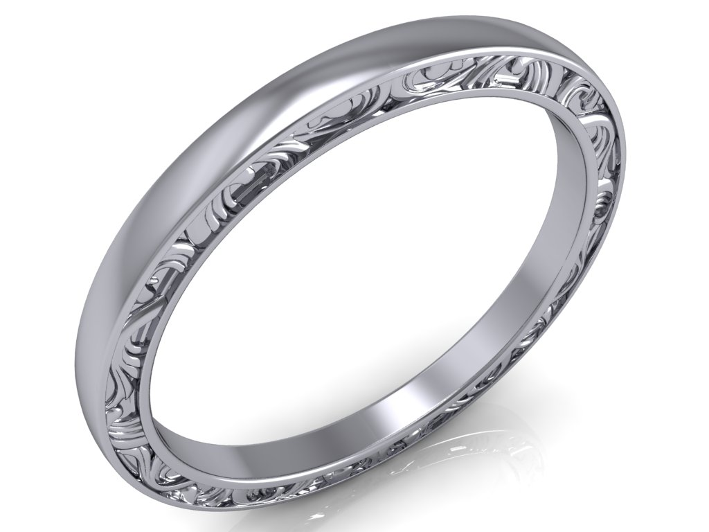 snubni prsten harlow bile zlato zlatnicke studio salaba zlatnictvi