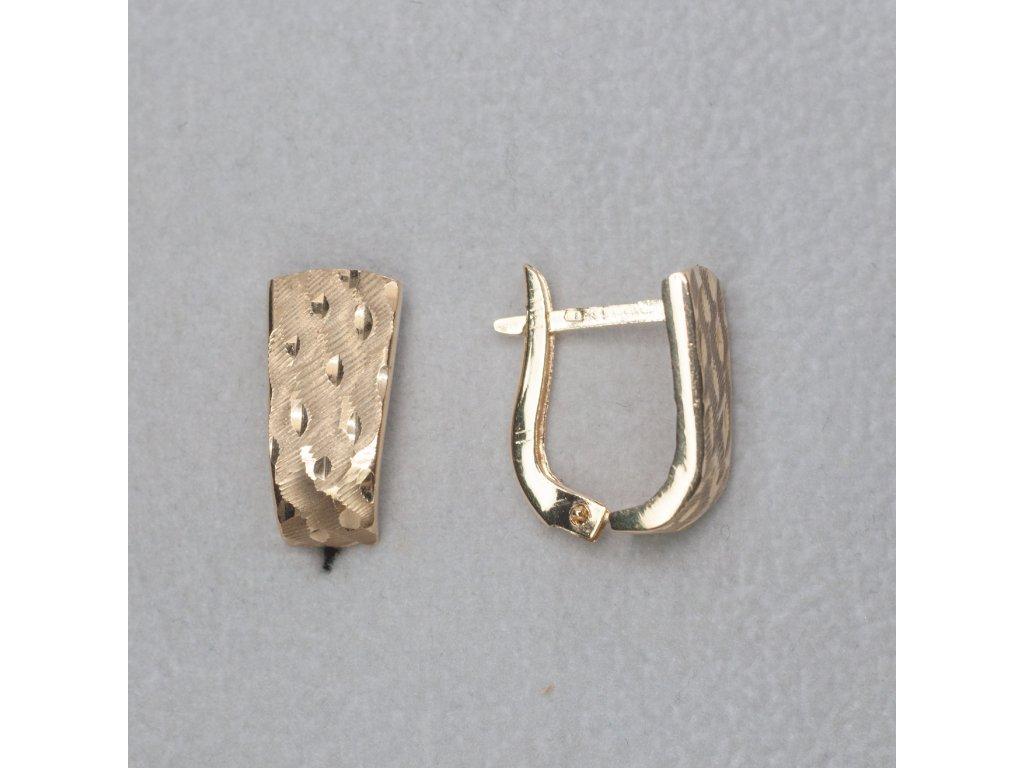 Zdobené náušnice do tvaru U