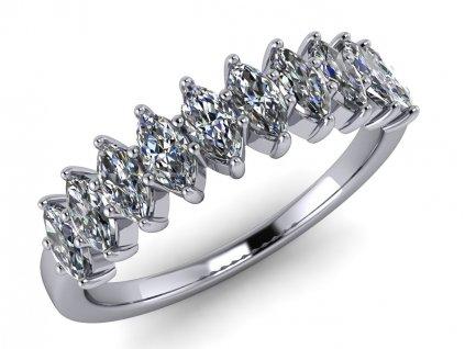 diamantový prsten Grace marquise