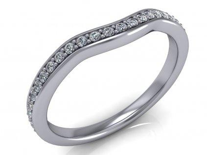 Snubní prsten BLAKELY s diamanty