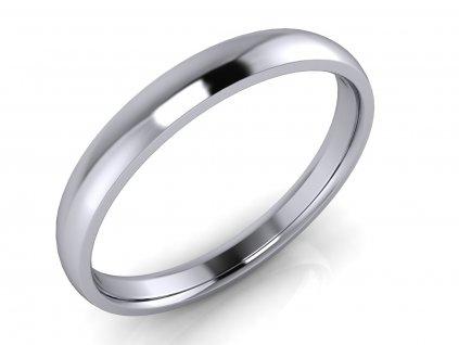 Pánský snubní prsten PAUL 3mm