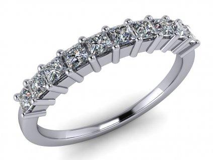 diamantový prsten Grace squere