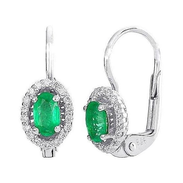 Smaragdové náušnice