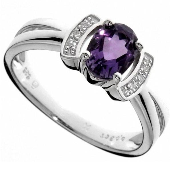 Prsteny s ametystem