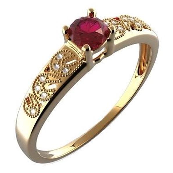 Prsteny s granátem