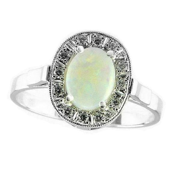 Prsteny s opálem
