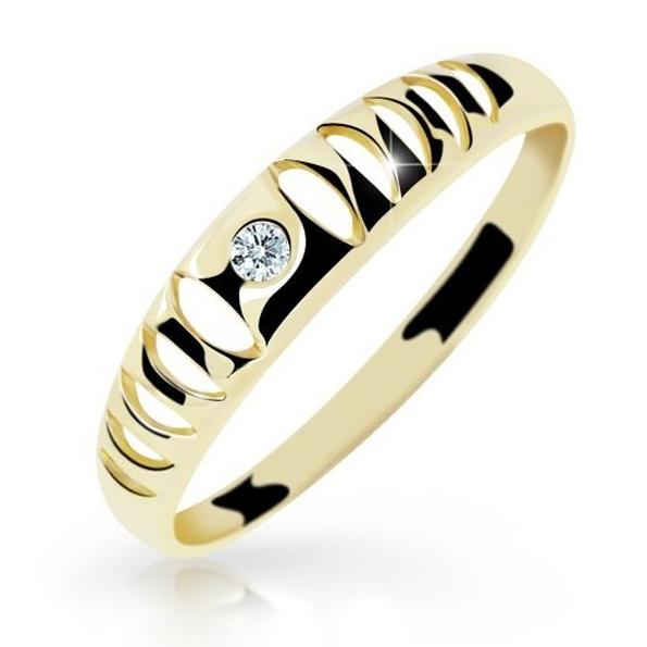Prsteny žluté zlato