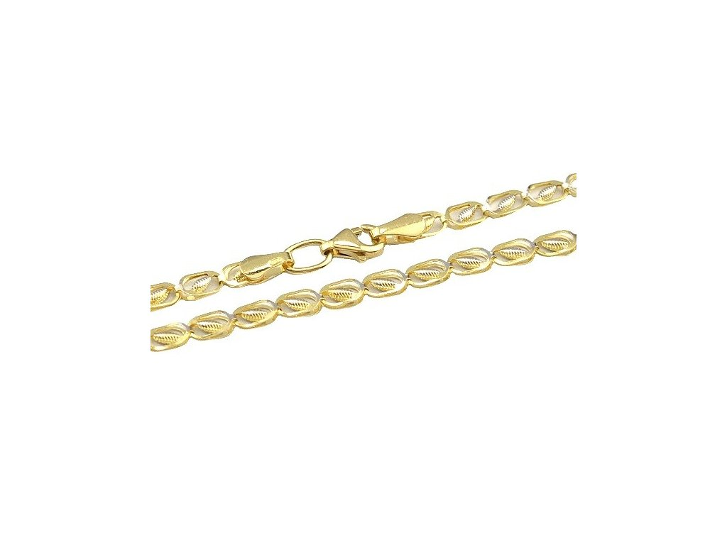 Zlatý náhrdelník 50cm