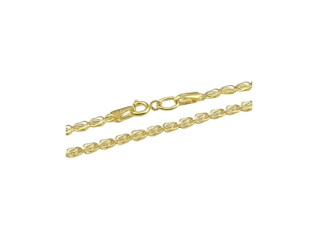 Zlatý náhrdelník 45cm
