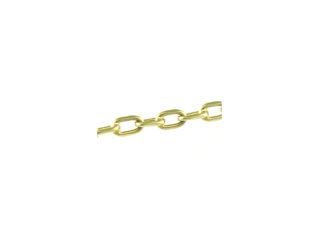 Zlatý náramek 20cm žluté zlato